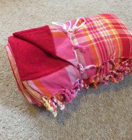 Mwezi shop towel RED
